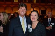 Dennis Cotter of Davis Construction with Marilynn Mendell of WinSpin CIC Inc.
