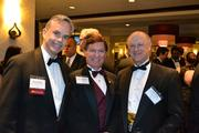 From left, David Straut of Wells Fargo Bank; H. Ken DeDominicis, vice president of institutional advancement at The Catholic University of America; and Robin Jones of Pillsbury Winthrop Shaw Pittman LLP.