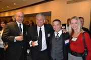 From left, Jeff Gelman, with Tony Marquez of EagleBank, and Michael Privitera and Sarah Orzech, both of HSBC Bank USA.