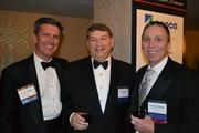 From left, Kevin Virostek of Ernst & Young LLP, Gary Tabach of Deloitte LLP and Terry McCallister of WGL Holdings Inc.