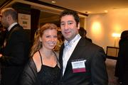 Rachel Stahl and Jonathan Stahl from the Washington Nationals Baseball Club (MLB).