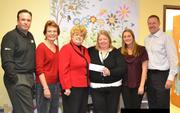 Embrace Home Loans of Rockville donated $2,500 to the Child Advocacy Center (CAC) of Frederick County.
