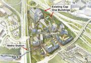 Capital One campus redevelopment, up to 4.5 million square feet