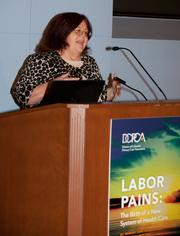 The D.C. Primary Care Association held its 14th annual meeting on Oct. 27. CEO Sharon Baskerville spoke at the event.