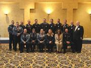 The Arlington Chamber of Commerce 2012 Valor Award honorees.