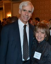 "Well-known Washington philanthropic couple Vicki and Roger Sant were honored Dec. 8 at The Community Foundation for the National Capital Region's Celebration of Civic Spirit at The Ritz-Carlton in D.C. Celebrating were Boisfeuillet ""Bo"" Jones Jr. of MacNeil/Lehrer Productions and Barbara Jones."
