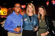 From left, Steven Brier of Marriott International Inc. and Kristy McDaniel and Stacy Mindlin of Excella Consulting.