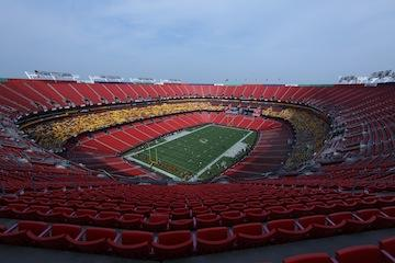 FedEx Field's naming rights went for $205 million in 1998.