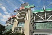Washington Redskins stadium: FedEx FieldCapacity: 85,000 (the largest stadium in the NFL)