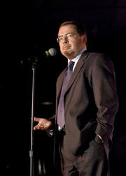 Grover Norquist, president of Americans for Tax Reform, tried his hand at stand-up.