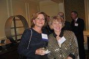 Dee MacDonald Miller of Jones Lang LaSalle, left, Cathy Lange of BusinessWorks of America.
