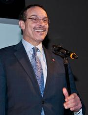 D.C. Mayor Vincent Gray was one of the grand opening's speakers.