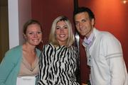 From left, Lisa Throckmorton of SpeakerBox, Katherine Ferguson of SpeakerBox of Cooley and Charlie Kiser of SellStrategy Consulting.