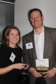 Cheryl Dickison of R2i and David Samuels of Bioscan.