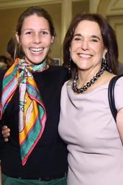 Corinna Borden of Real Time Farms and Ann Yonkers of FreshFarm Markets.