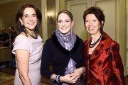 From left, Ann Yonkers of FreshFarm Markets, Julie Stinar of Evensong Farms and Bernadine Prince of FreshFarm Markets.