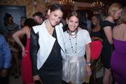 """Belvedere Vodka and SAX teamed up to host a VIP gathering July 11  highlighting the lounge's new """"privilege list."""" Among those on the list  for the evening were Alexis Levine, left, and Meredith Fineman."""