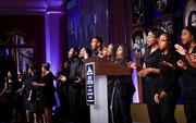 Voices United and Urban National Hip Hop Choir served as the evening's entertainment.