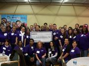 """On Jan. 11, Kohl's associates volunteered at Children's National Medical Center's """"Waiting to Exhale"""" asthma education session and presented a check for $505,442."""