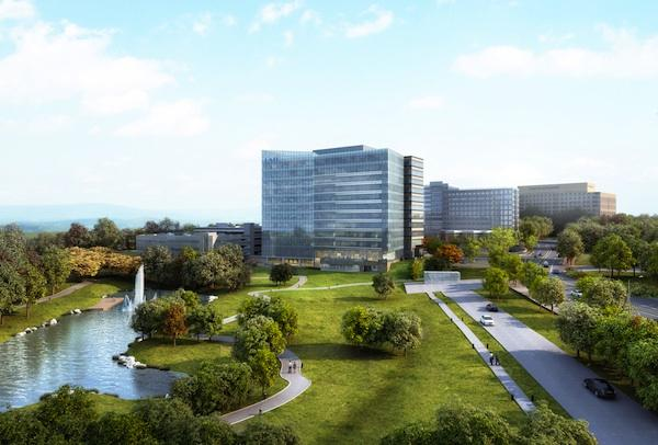 A joint venture including MRP Realty plans to break ground later this year on 7940 Jones Branch Drive, a 300,000-square-foot building in McLean to be anchored by nonprofit government consulting firm LMI.