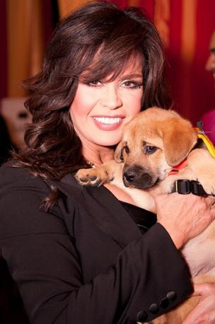 Fashion for Paws, the annual blow-out fashion show benefiting the Washington Humane Society, took to the dog-and-catwalk April 14 at the National Building Museum. Marie Osmond served as the guest host. Osmond adopted puppy George at the event.
