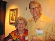 Doris Ebert of Ebert & Associates and Tom Stroup of Shared Spectrum Co.