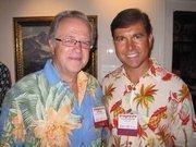 Bob Dinkel of Pierce Capital Partners, left, and Carl Grant of Cooley