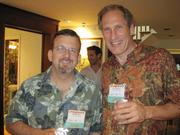 Mike Renner, left, and Pete Johnson, both of Three Pillar Global