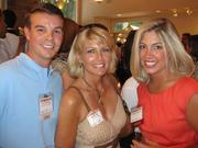 From left, Matt Schrader of Dutko Worldwide, Kathy Penny of Kat Consulting and Katherine Ferguson of Cooley