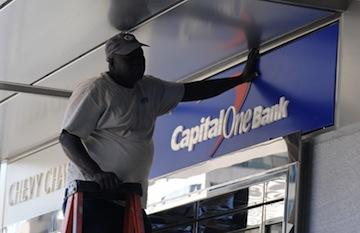 Capital One Bank is closing one local branch, and opening another.