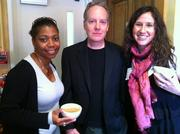 The Nonprofit Match Up is a networking event that pairs nonprofits with creative agencies to learn and share. Attendees included, from left, Shireen Mitchell, founder, Digital Sisters; Dennis Goris, partner and creative director, Bremmer & Goris; and Casey Kincheloe, creative director, Pivot Point Communications.