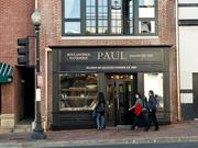 Paul Bakery Georgetown, D.C.Paul Bakery hasn't been in the Washington area long, so it feels like one of the city's better kept secrets. The chain is huge in France but arrived in the market last year with its Pennsylvania Avenue location, and the top floor of its two level Georgetown spot is a great option if you want some privacy with your meeting. Georgetown can be a challenging place to have a business meeting -- Dean & DeLuca gets crowded, and Le Pain Quotidien's takeout/sit down hybrid model can feel awkward when you're just grabbing a coffee with someone, making Paul a nice alternative. The restaurant boasts solid coffee, lots of pastry options and a few more substantial breakfast selections, such as a quiche and salad combination. Waitresses are friendly and discreet. As the chain expands (Tysons Corner and Potomac Mills locations are in the works), there are more geographic options for fans of the Paul brand.Address: 1078 Wisconsin Ave.  NW, D.C.Phone: (202) 524-4630Hours: Monday  through Thursday, 8 a.m.-7p.m.; Friday, 7 a.m.-9 p.m.Reservations:  NoWi-Fi: NoCrowded? Usually fairly open for  seating weekday morningsFood/coffee: Both. Highlights:  Chocolate croissants and rotating quiches with side saladMetro  accessibility: Foggy Bottom (it's a hike), Georgetown CirculatorOther  locations: Golden Triangle, Dupont, Downtown; More on the wayParking  options: Street parking is a challenge. Parking on K and walking up  the hill is usually a safe bet.Service style: Counter  downstairs, waitress upstairsPrice: ReasonableWebsite:  www.paul-usa.com