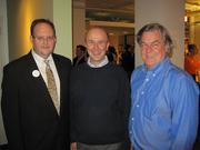 From left, Perkins, Don Hoover and Carmichael.