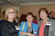 From left, Pam Novick, a guest and Janet Niblock, all from George Mason University Office of Continuing Professional Education.