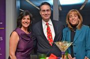 From left, Angela Inzerillo of AdviCoach, with C. Michael Ferraro and Sharon Ferraro, both of Training Solutions.