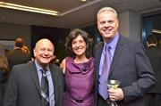 From left, Wayne Greenfeld of Dr. Quickbooks, Angela Inzerillo of AdviCoach and James Lawson of AdviCoach.