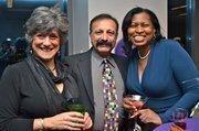 Liz Sedaghatfar, Davood Sedaghatfar and Angela Harpalani of Dimensional Concepts.