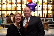 Sharon Slavin of the Greater Reston Chamber of Commerce and Paul Slavin of Cox Communications.