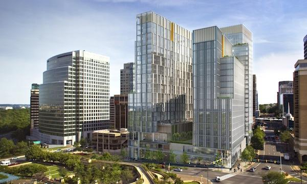 The JBG Cos.' plan to replace two aging Rosslyn high-rises with 1 million square feet of office, retail and residential development won Arlington County Board approval Wednesday.