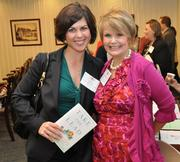 Katherine Liola of Ameriprise, left, and Success in the City CEO Cynthia de Lorenzi.