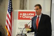 Sen. Mark Warner hosted the national launch of A Billion + Change Pro Bono Service Initiative on Nov. 3, a campaign to donate $1 billion of pro-bono professional services to nonprofits.