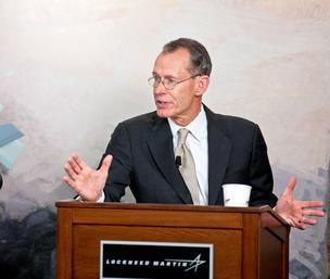 Sequestration won't mean immediate job cuts at Lockheed Martin Corp., chief executive Bob Stevens said.