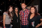 Public Bar's Pamela Liao and K. Nathan were on hand with Sushi Rock's Drew Pazz and Sunny Kim.