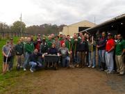 Fifty-five Unisys employees, part of the LEAP Alumni (Leadership Excellence Accelerated Program), volunteered at the Loudoun Therapeutic Riding Foundation Inc. in Leesburg on Oct. 26.