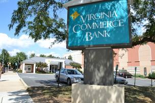 Virginia Commerce Bank sent out pink slip letters Friday, letting some staff know they will no longer have jobs after the third quarter, when the bank sells to United Bank.