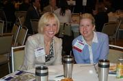 Jane Raymond and Melissa Ozmar, both of Reston Hospital Center.