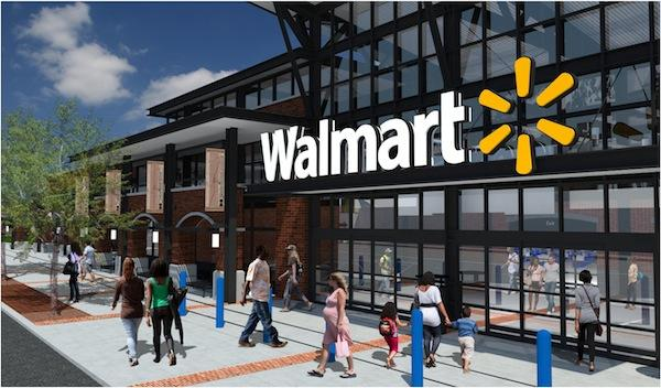 Wal-Mart has submitted plans to build a new discount department store near the Chatham County and Orange County line.