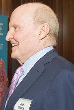 Former General Electric CEO Jack Welch spoke in Raleigh on Thursday.