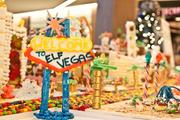 "Las Vegas sprung up in the lobby of 1050 Connecticut Ave. NW Nov. 28, as David Schwarz Architects' annual charitable ""Gingertown"" gingerbread construction event kicked off. This year's theme was ""Elf Vegas."" No word if what happens in Elf Vegas stays in Elf Vegas."