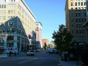 Looking east down F Street NW in more recent years.